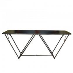 PORTABLE FOLDING DISPLAY TABLE