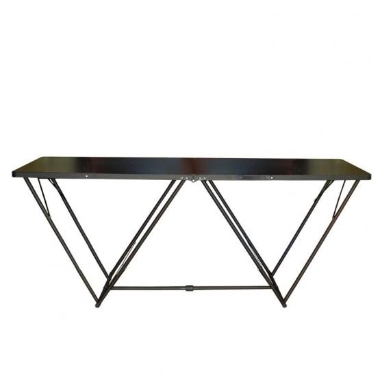 Portable Exhibition Table : Portable folding display table