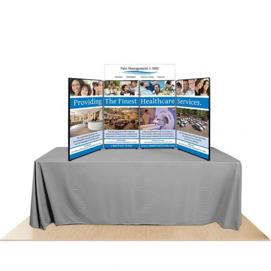 4-Panel Promoter45 Table Top Display Kit 2