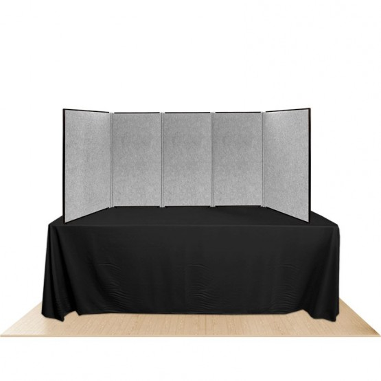 5-Panel Promoter45 Table Top Display