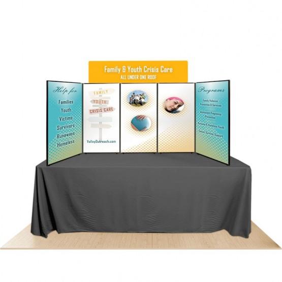 5-Panel Promoter45 Table Top Display Kit 2