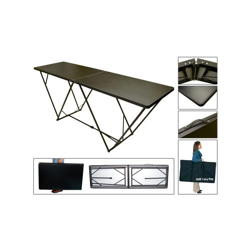 Portable Exhibition Table : Portable folding display table affordable exhibit