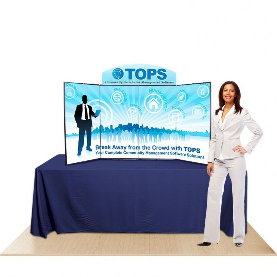 ShowStyle Pro32 Briefcase Table Top Display Kit 2