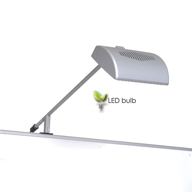led stem light for bannerup banner stand. Black Bedroom Furniture Sets. Home Design Ideas