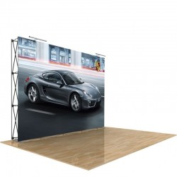 10ft Star Tension Fabric Display