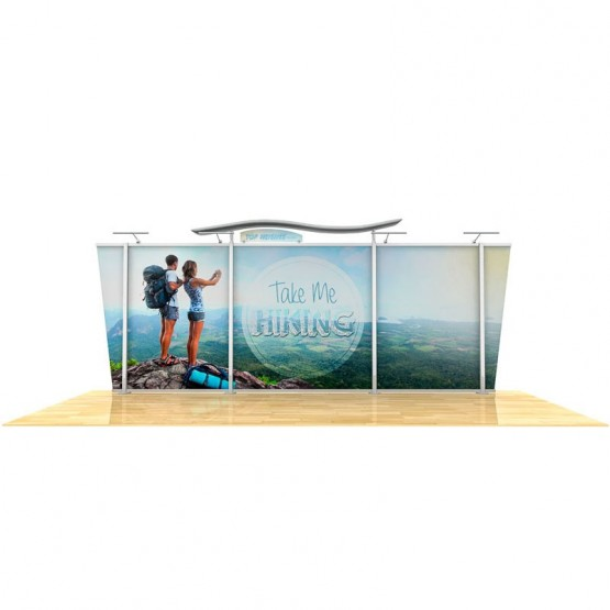 20ft Timberline Tapered Display Kit 1