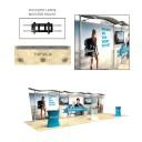 30ft Timberline Straight Display Kit 2