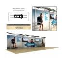 30ft Timberline Straight Display Kit 1