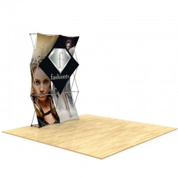 3D SNAP Pop-Up Display Layout 1