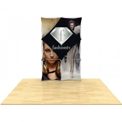 5ft 3D SNAP Pop-Up Display Layout 1