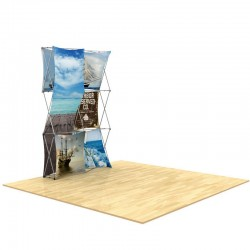 5ft 3D SNAP Pop-Up Display Layout 2