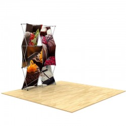 5ft 3D SNAP Pop-Up Display Layout 3