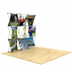 8ft 3D SNAP Pop-Up Display Kit 1