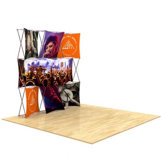 8ft 3D SNAP Pop-Up Display Kit 2