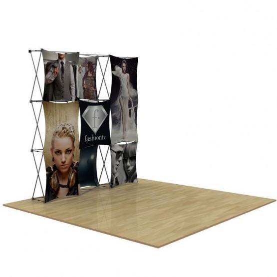 8ft 3D SNAP Pop-Up Display Kit 4