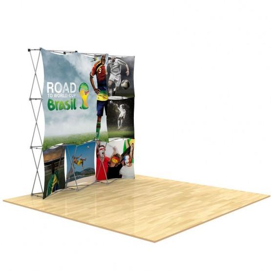 3x3 3D SNAP Pop-Up Display Kit 5