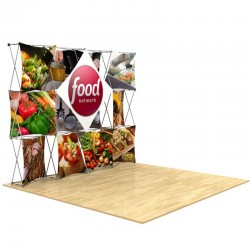 10ft 3D SNAP Pop-Up Display Kit 1