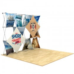 10ft 3D SNAP Pop-Up Display Kit 3