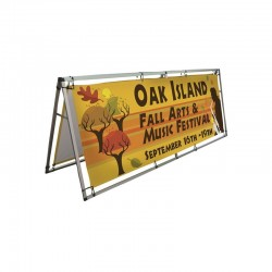8ft Horizontal A-Frame Sidewalk Sign
