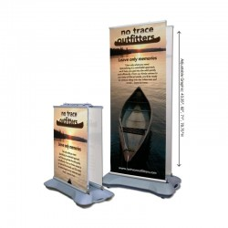 Four Season Ballast Retracting Banner Stand