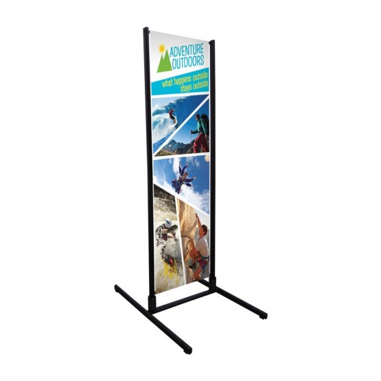 Four Season Dual Track Banner Stand