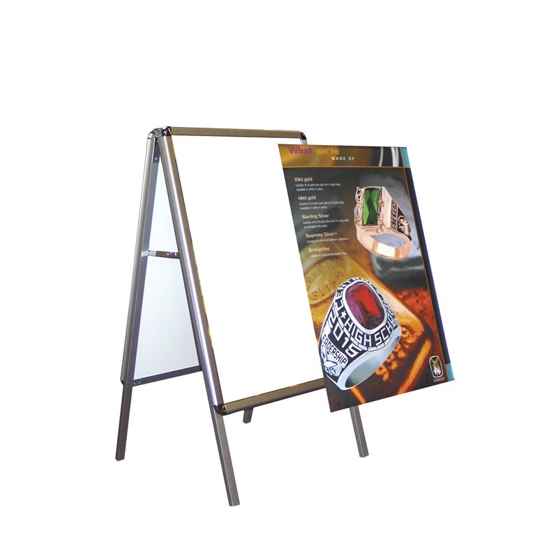 Metal A-Frame 2-sided Sidewalk Sign