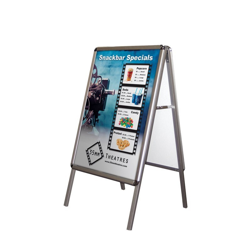 Laminating poster board for outdoors