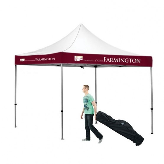 10x10 Outdoor Area Imprint Tent Kit  sc 1 st  Affordable Exhibit Display & 10x10 Outdoor Valance Imprint Tent Kit