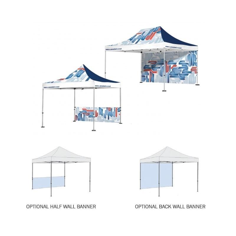10x10 outdoor full color imprint tent kit - 10x10 Tent