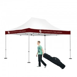 10x15 Outdoor Valance Imprint Tent Kit