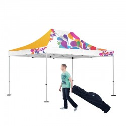 10x15 Outdoor Full Color Imprint Tent Kit