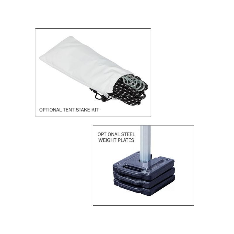 10x15 Outdoor White Tent Kit - No Imprint  sc 1 st  Affordable Displays & Outdoor White Tent Kit - No Imprint