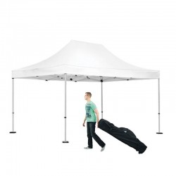 10x15 Outdoor White Tent Kit - No Imprint