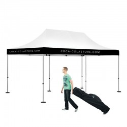 10x20 Outdoor Valance Imprint Tent Kit