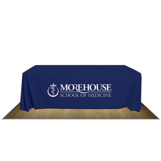 8\u0027 FULL FABRIC TABLE COVER - 1-COLOR IMPRINT  sc 1 st  Affordable Displays & 8\u0027 TABLE COVER 1-COLOR IMPRINT