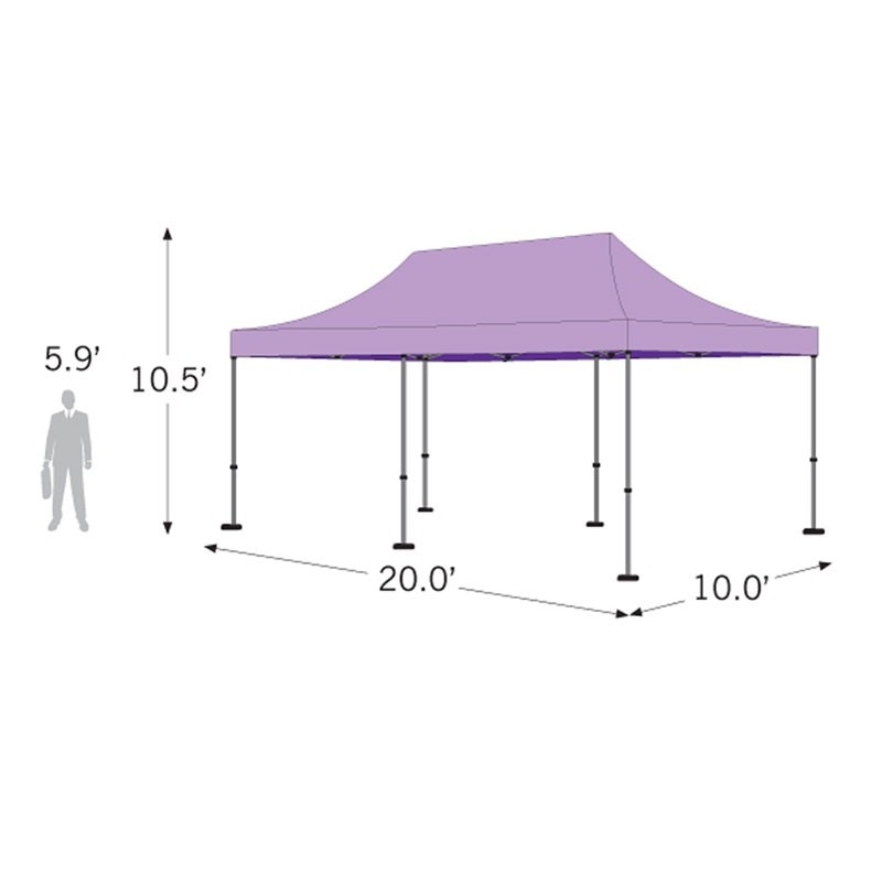 10x20 Outdoor White Tent Kit - No Imprint  sc 1 st  Affordable Displays & Outdoor White Tent Kit - No Imprint