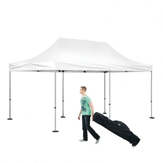 10x20 Outdoor White Tent Kit - No Imprint