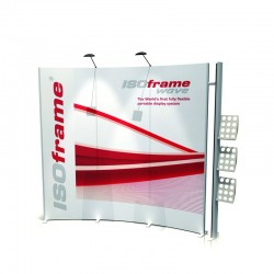 ISOframe Wave Modular Backwall Kit