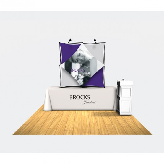 Xpressions Select Straight Tension Fabric Display