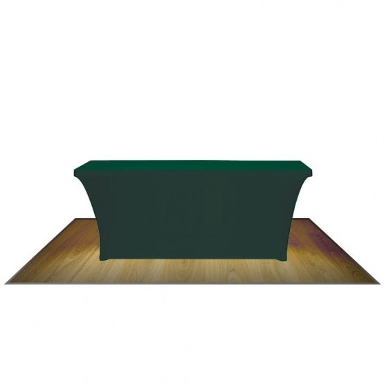 6FT CONTOUR STRETCH TABLE COVER (NO IMPRINT)