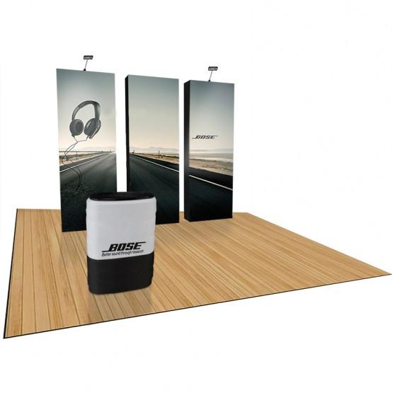 VBurst 10ft Premium 3-section Pop-Up Kit 2