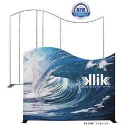 10ft KLIK Magnetic Tension Fabric Display