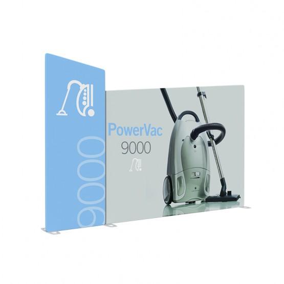 10ft KLIK Magnetic Display System Kit 4