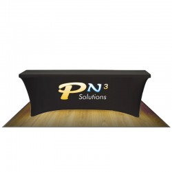 8FT ULTRAFIT TABLE COVER - FULL COLOR/FULL BLEED