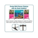 10ft Deluxe Adjustable Banner Stand Kit