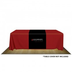 "32"" Custom Printed Poly-Canvas Table Runner"