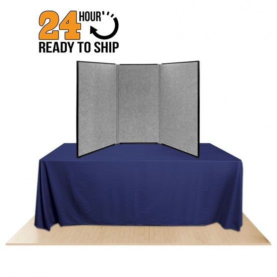 3 panel promoter45 table top display
