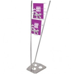 VICTORY PORTABLE LITERATURE RACK