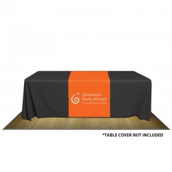 "32"" Custom Printed Fabric Table Runner"