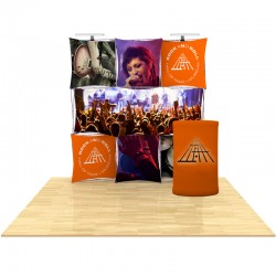 8ft 3D SNAP Pop-Up Display Kit 2